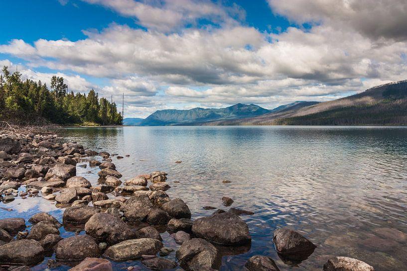 Lake Mc Donald Glacier NP van Ilya Korzelius