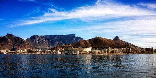 Cape Town view van