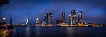 Rotterdam Skyline van Jeroen Linnenkamp