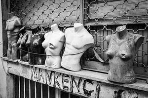 Istanbul torso's (zwart-wit) van