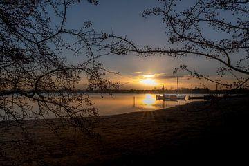 Zonsondergang Eiland van Maurik van Moetwil en van Dijk - Fotografie