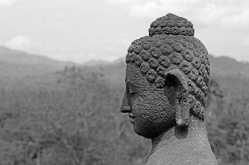 boeddha hoofd von laura van klooster