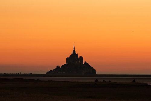 Mont Saint-Michel silhouet