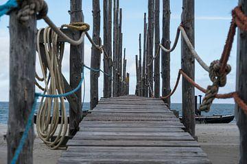 houten loopbrug Texel von Nienke Stegeman