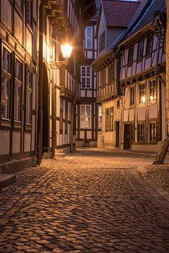 Gasse in Quedlinburg von Sergej Nickel