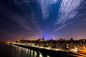 Nijmegen bij volle maan