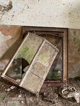 Een oud raam van matthijs iseger