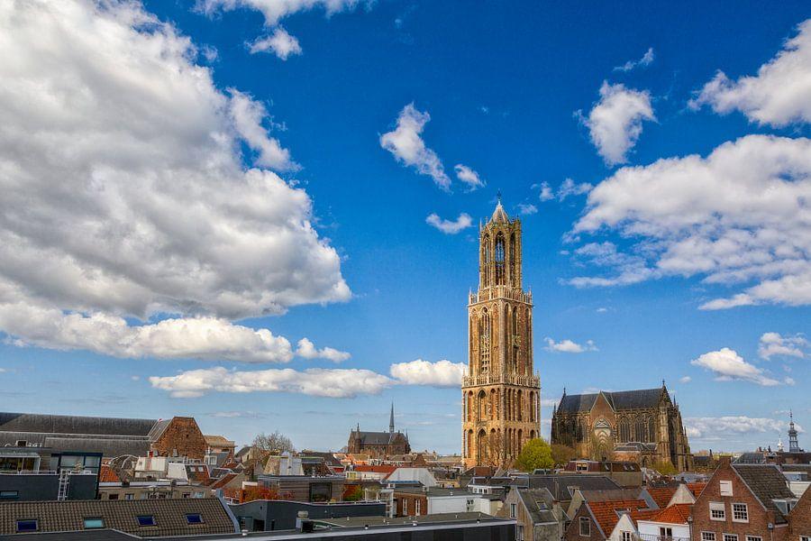 De Grote Blauwe Lucht - Utrecht van Thomas van Galen