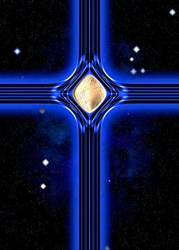 Blaues Kreuz sur Leopold Brix