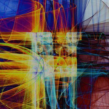 Abstracte samenstelling 480 van Angel Estevez
