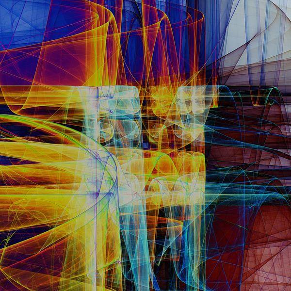 Composition abstraite 480 van Angel Estevez