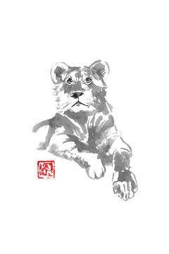 Löwin von philippe imbert