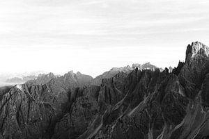 Auf dem Gipfel der Welt |Berge der Dolomiten, Italien.