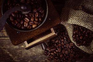 Malen van verse koffie
