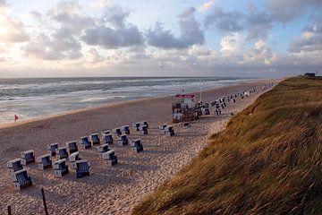 Strandabschnitt bei Rantum / Sylt