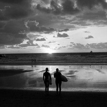 Na het surfen / After a surf day van geen poeha