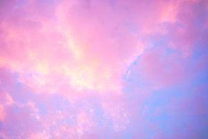 Gekleurde wolken zonsondergang  van