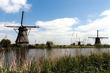 Molens in Kinderdijk sur Rijk van de Kaa