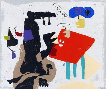 Faust, abstrakt, WILLI BAUMEISTER, 1951