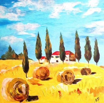 de cypressen van Nicole Roozendaal