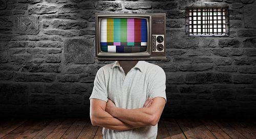Prison Tv van