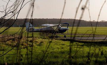 Vliegtuig Hilversum Airport van MRHVisuals