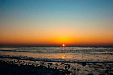 Sylt: Sonnenuntergang im Januar sur Norbert Sülzner