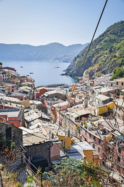 Vernazza, Cinque Terre Italie van Kramers Photo