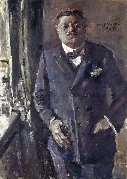 Porträt des Reichspräsidenten Friedrich Ebert, Lovis Corinth von Meesterlijcke Meesters