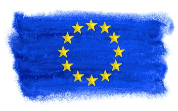 Symbolische Flagge der Europäischen Union von Achim Prill