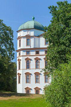 Hertogelijk Paleis, Celle, Lüneburgse Heide, Nedersaksen, Duitsland, Europa. van Torsten Krüger