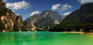 Lago di Braies , Pragser Wildsee  van