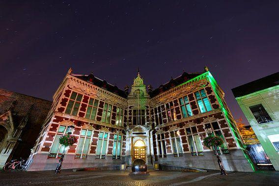 Het Academiegebouw in Utrecht  van Donker Utrecht