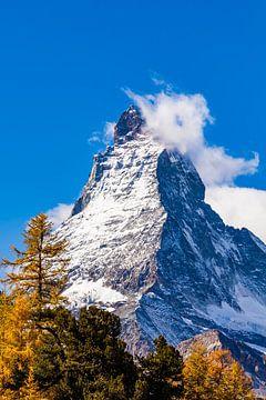 Das Matterhorn in der Schweiz von