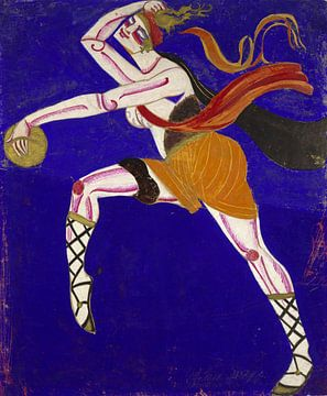 Annenskys berühmte Kifared (Thamira Khydaredes), Aleksandra Elster, 1916. von Atelier Liesjes