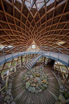 Vogelobservatorium 'Tij' in Stellendam von Leon Okkenburg