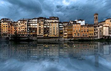 Rivier de Arno in Florence......... von Wim Schuurmans