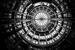 Aufzug bei Oosterscheldekering Zeeland von Bram Mertens