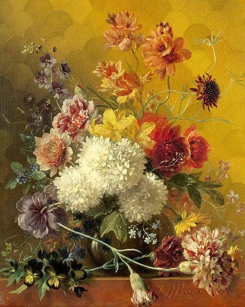 Stilleven Bloemen van Rudy en Gisela Schlechter