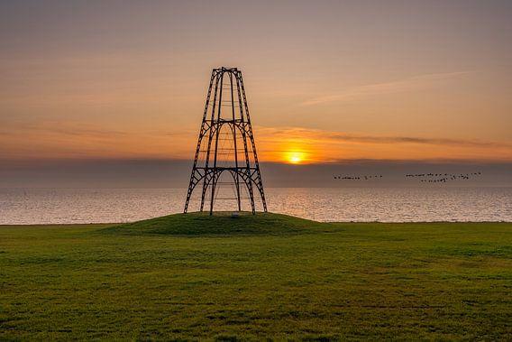 De Kaap Texel zonsopkomst