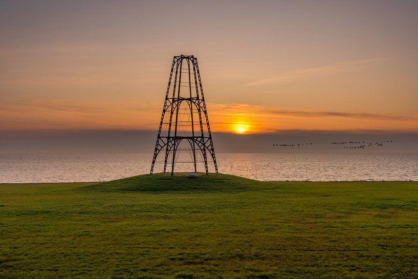 De Kaap Texel zonsopkomst van Texel360Fotografie Richard Heerschap