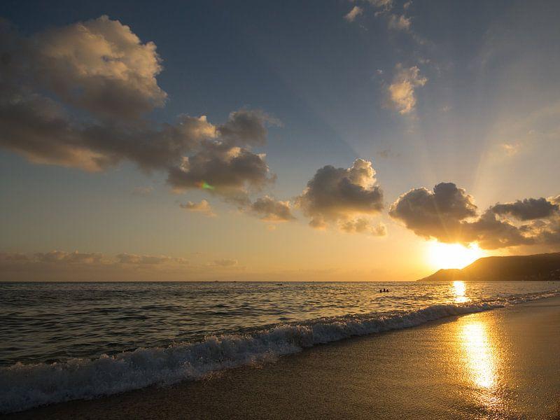 Sunset van Jeroen Hagedoorn