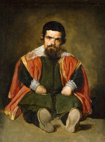 Don Sebastian de Morra, Diego Velázquez - ca. 1643 van Het Archief