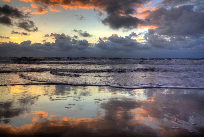 Noordzee bij eb van Ed van Wageningen