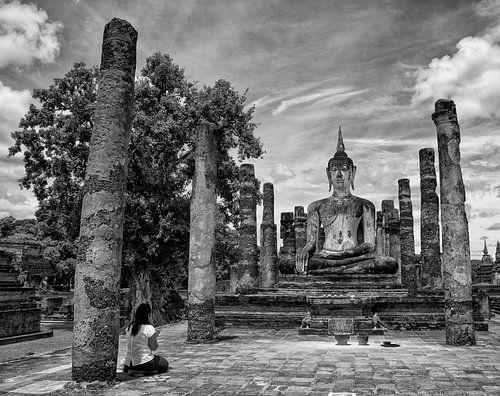 boeddha thailand von Jan Pel