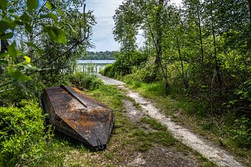 Alten Ruderboot Kolkven Oisterwijk von Carin IJpelaar