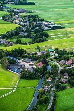 Polderlandschap van Zuid-Holland in staande vorm von Ineke Huizing