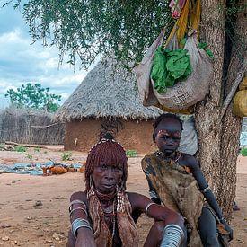 Ethiopië: Markt (Turmi) van Maarten Verhees