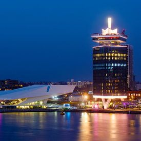 Amsterdam EYE en A'DAM toren van Marianne Ottemann - OTTI