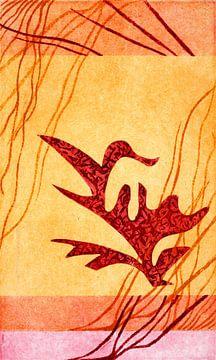 Vogelpflanze von Godelieve Kunst